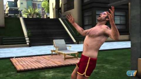 GTA V Character Swapping Gameplay