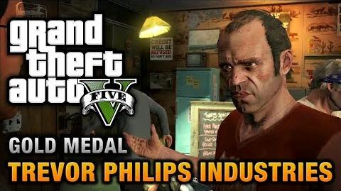GTA 5 - Mission 18 - Trevor Philips Industries 100% Gold Medal Walkthrough