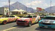 Stock Car Race GTAVe Race5 Start Grid