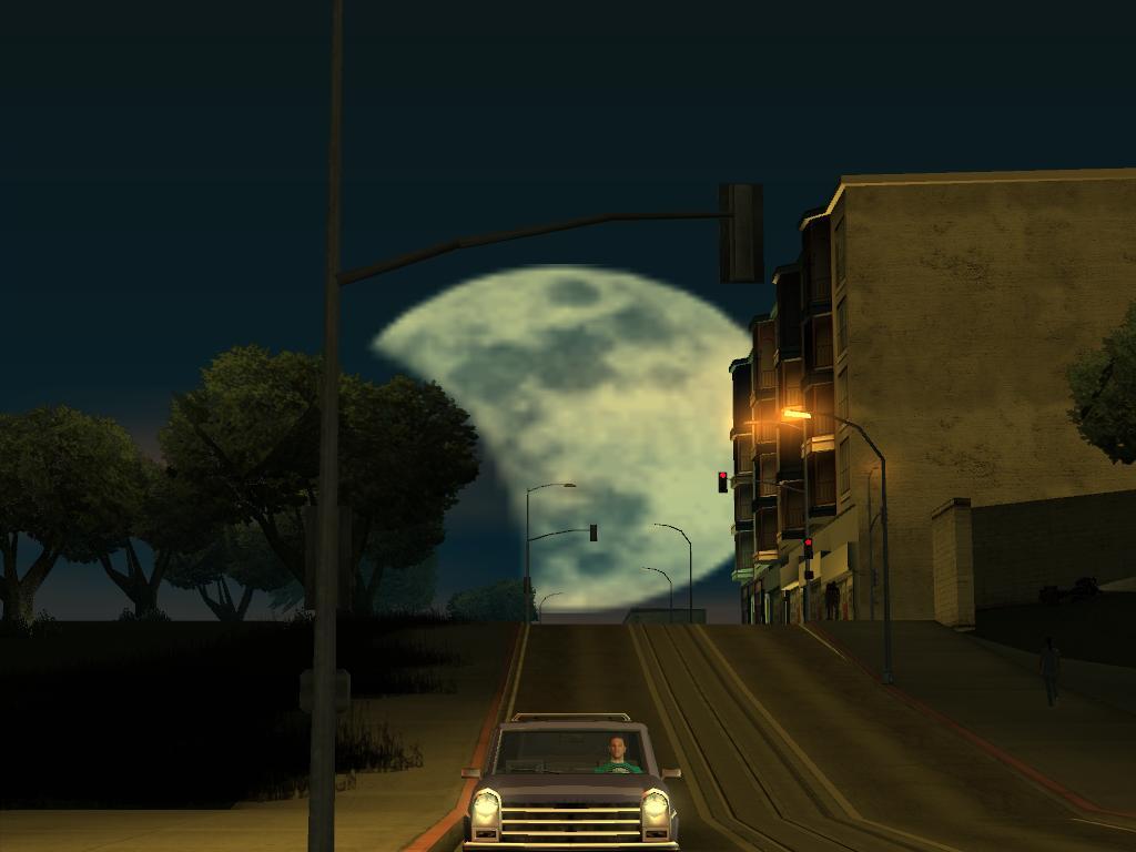 Gta san andreas moon