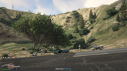 Vehicle Import Traffic Stop GTAO Mt Haan Screenshot