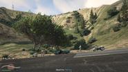 Vehicle Import Traffic Stop GTAO Mt Haan Screenshot