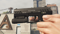 Combat Pistol-GTAV-Markings