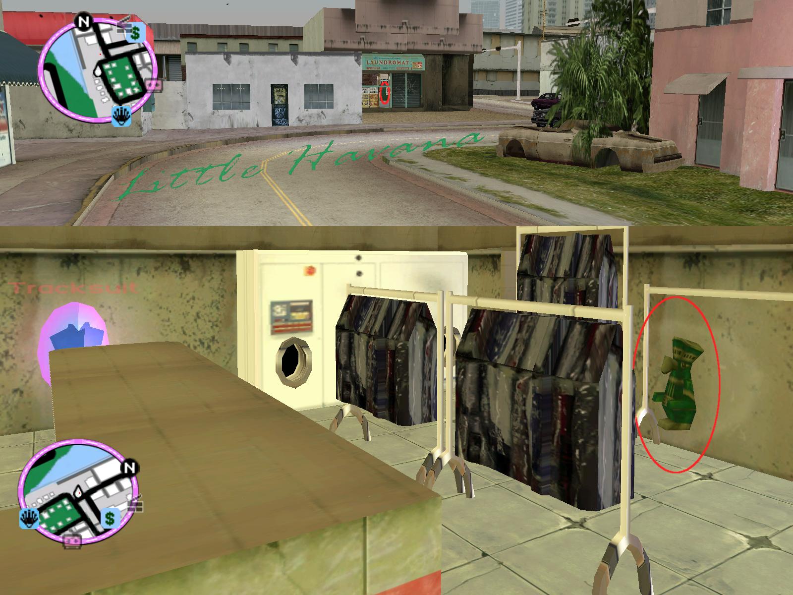 GTAVC HiddenPack 72 NE corner inside laundromat
