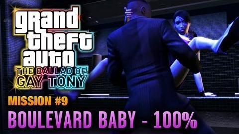 GTA The Ballad of Gay Tony - Mission 9 - Boulevard Baby 100% (1080p)
