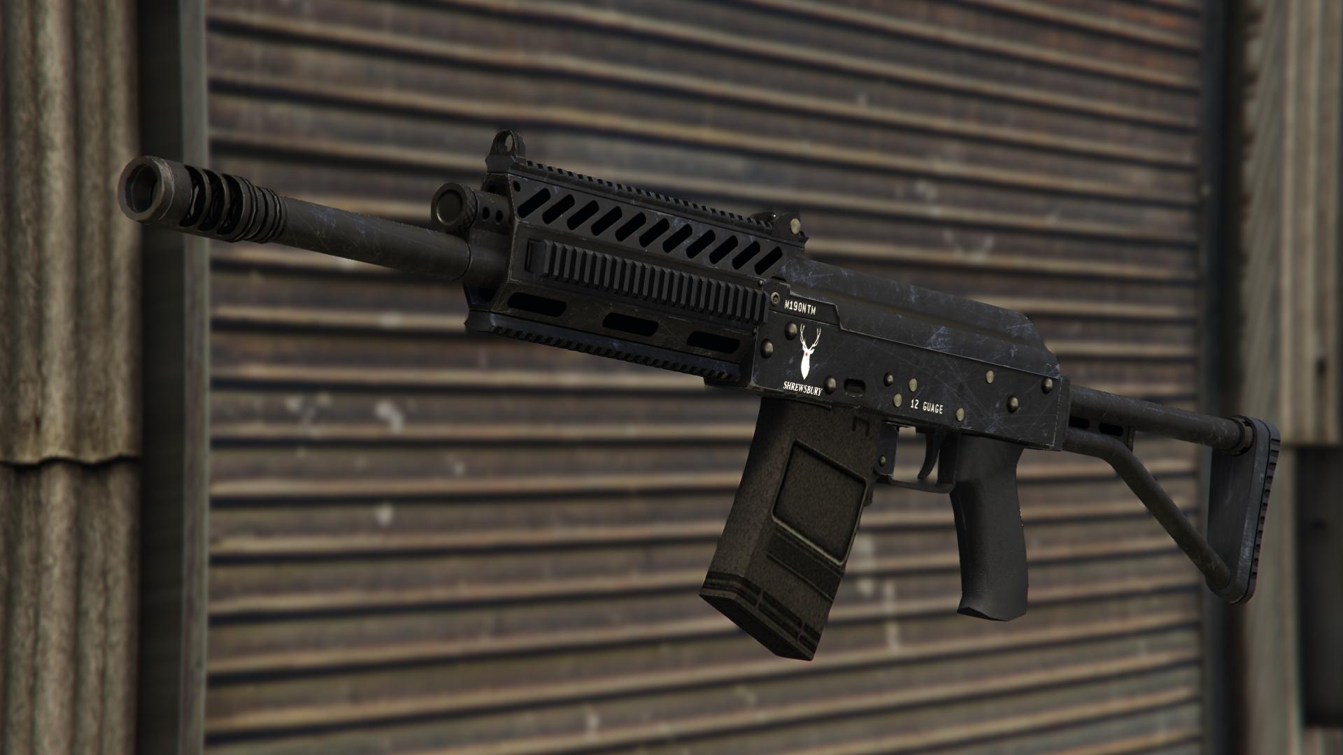 The Heavy Shotgun in Grand Theft Auto