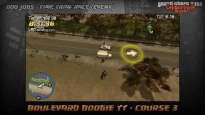GTA Chinatown Wars - Walkthrough - Time Trial Race - Boulevard Boogie TT - Course 3