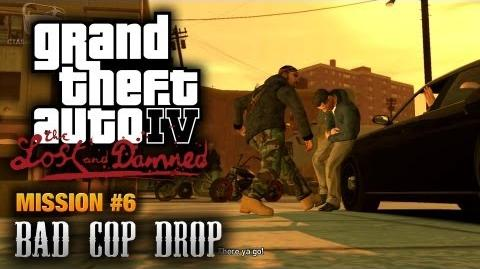 GTA The Lost and Damned - Mission 6 - Bad Cop Drop (1080p)
