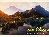 San Chianski Mountain Range