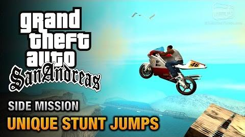 GTA San Andreas - Unique Stunt Jumps