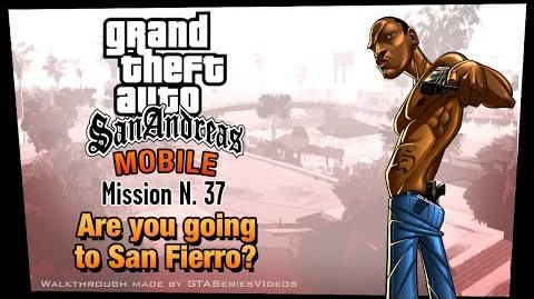 GTA San Andreas - iPad Walkthrough - Mission 37 - Are you going to San Fierro? (HD)