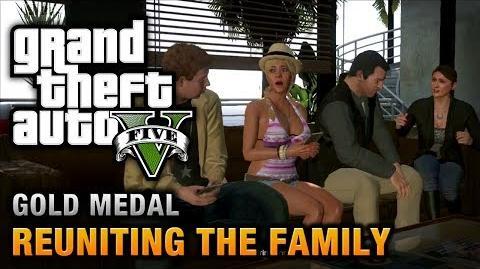 GTA 5 - Mission 62 - Reuniting the Family 100% Gold Medal Walkthrough