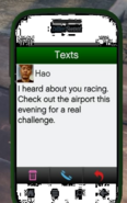 Airport GTAV Street Race Text