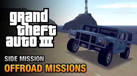 GTA 3 - Off-Road Missions Where we're going, we don't need roads Trophy