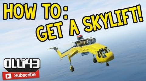 How to Get a Skylift Helicopter in GTA Online! (GTA 5 Online Glitch Guide)