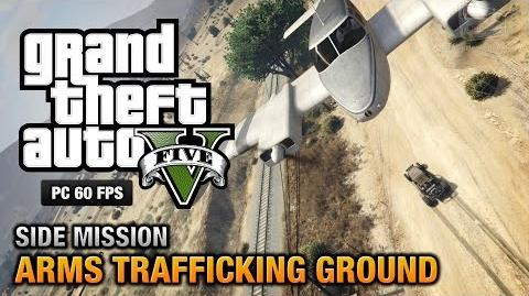 GTA 5 PC - Arms Trafficking Ground