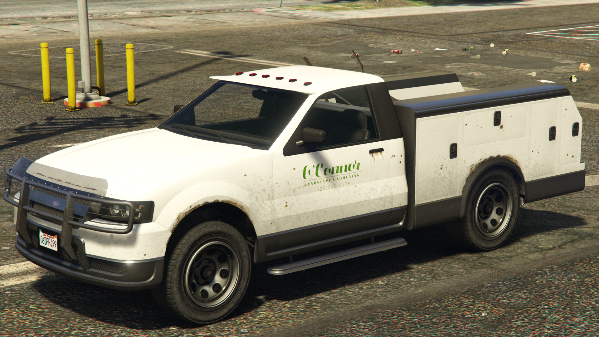 The Utility Truck In Grand Theft Auto V