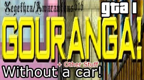 GOURANGA Without a car Other Stuff - GTA 1 - With Commentray