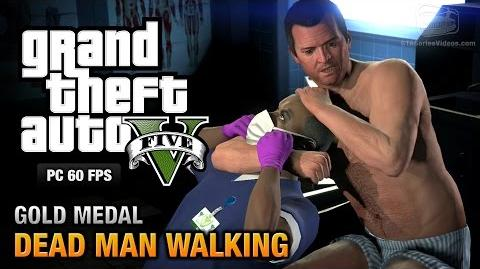 GTA 5 PC - Mission 23 - Dead Man Walking Gold Medal Guide - 1080p 60fps