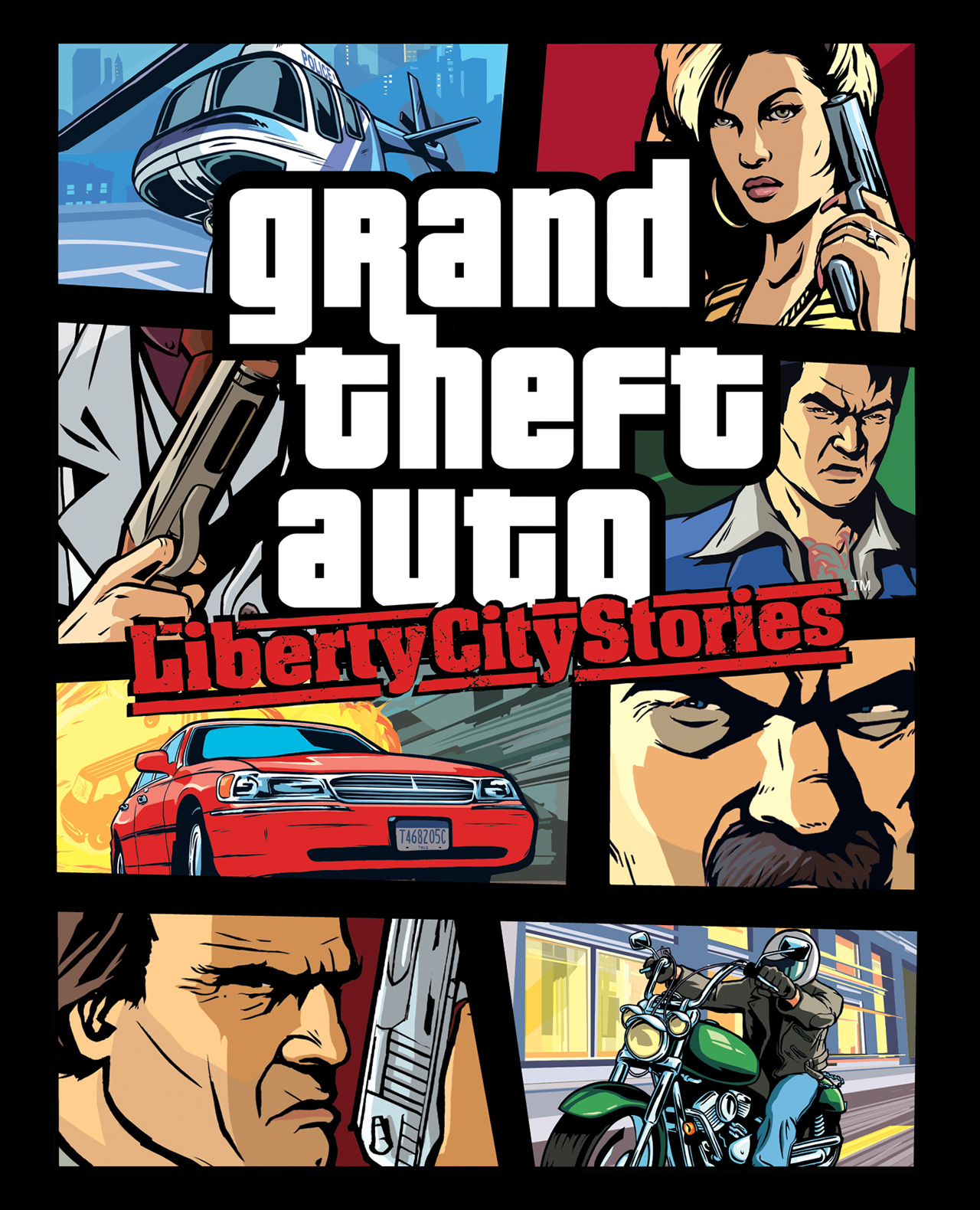 GTA Liberty City پی‌اس‌پی