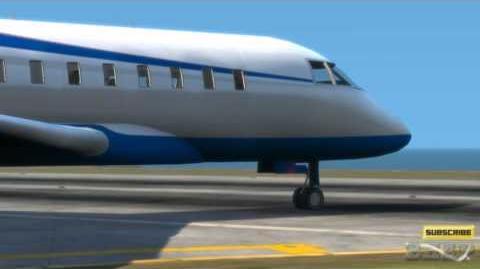 GTA IV - Ghawar Commercial (Bombardier CRJ200) (HD)