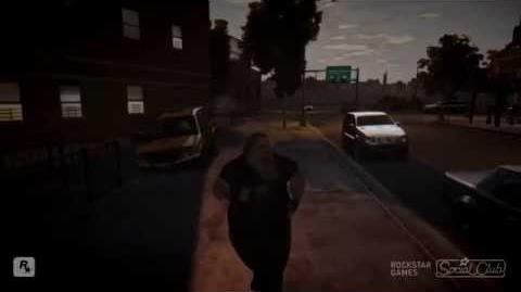 GTA IV Running People Over (Bloopers and silliness)