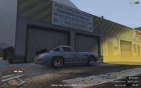 Vehicle Export Showroom GTAO Chrome Dome BF Repairs