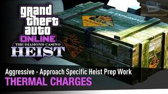GTA Online The Diamond Casino Heist - Thermal Charges Aggressive - Solo