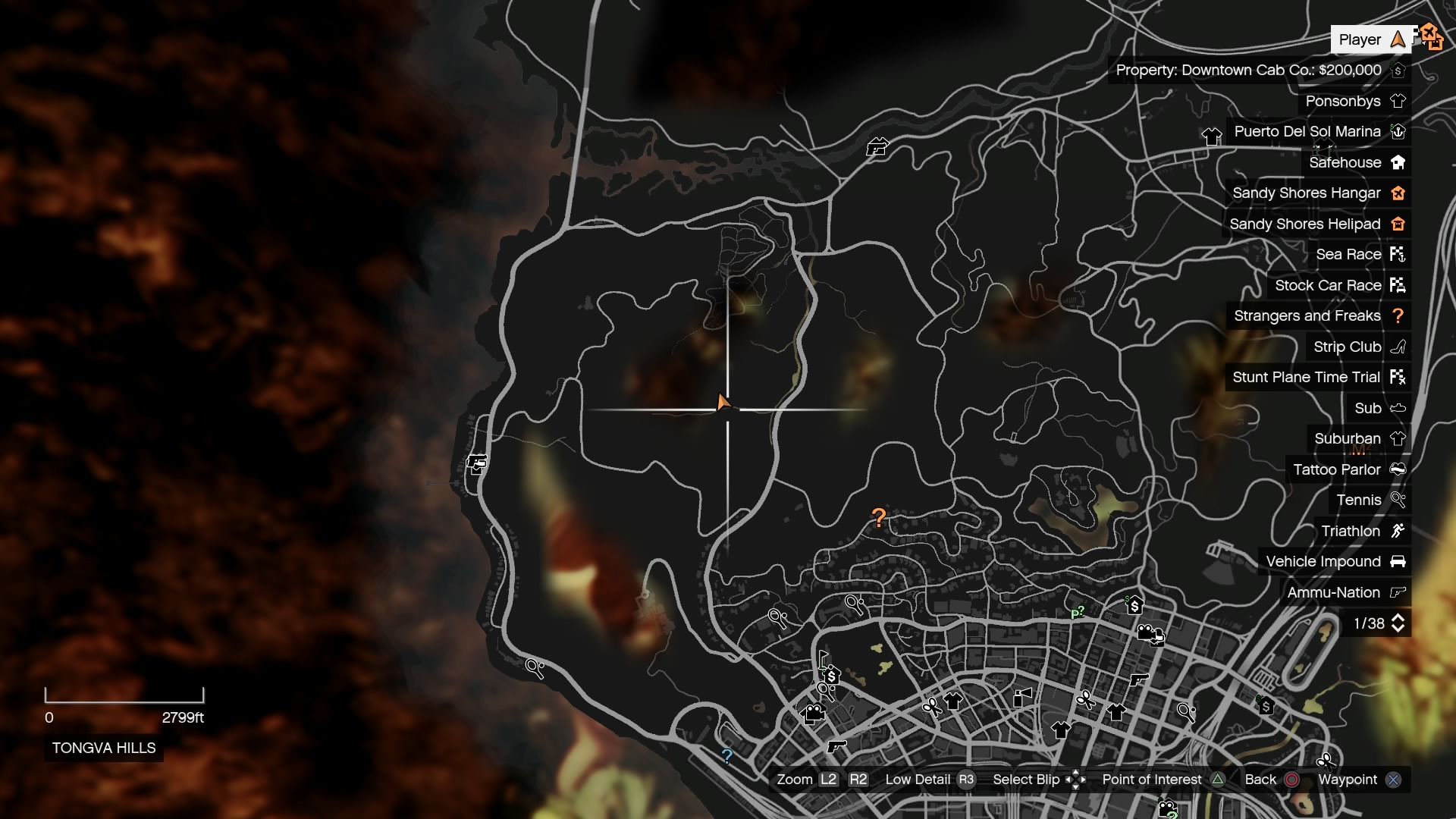 image spaceship parts gtave 23 tongva hills cave map jpg gta