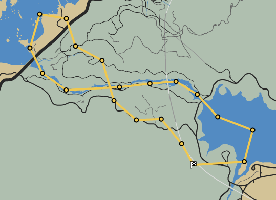 Loose Canyon GTAO Race Map