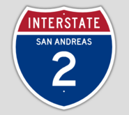 1957 Style Interstate 2 Shield