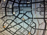 Central Los Santos Medical Center GTAV Location map