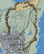 Thrusting Motion GTAO Race Map