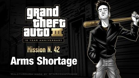 GTA 3 - iPad Walkthrough - Mission 42 - Arms Shortage
