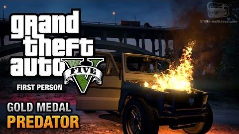 GTA 5 - Mission 50 - Predator First Person Gold Medal Guide - PS4
