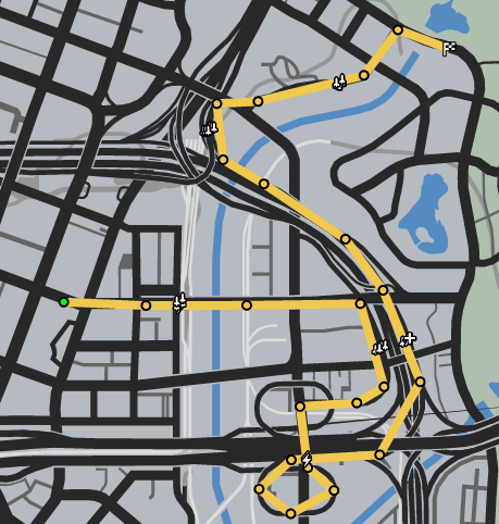 Lost And Found GTAO Race Map