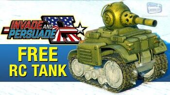 GTA Online - FREE Invade and Persuade RC Tank