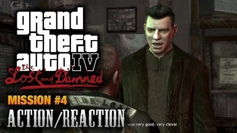 GTA The Lost and Damned - Mission 4 - Action Reaction (1080p)
