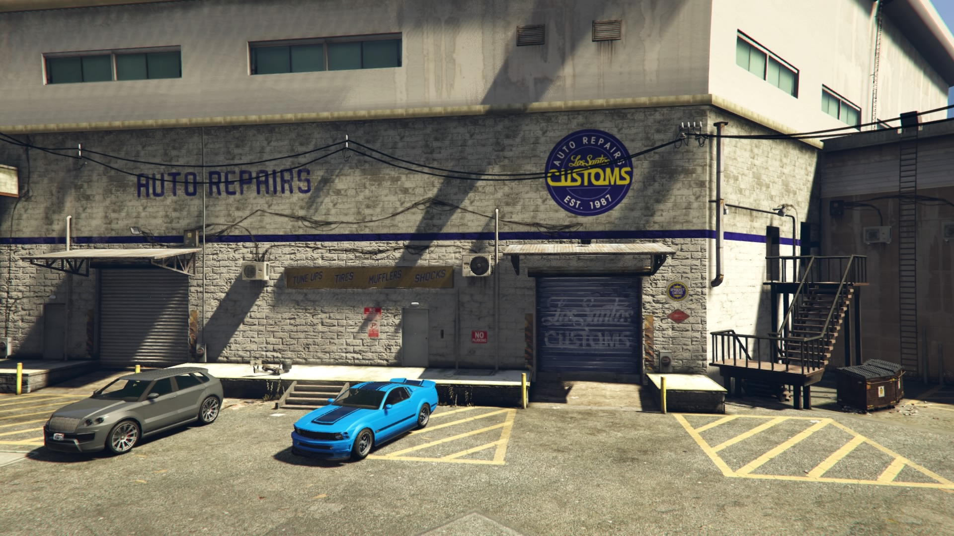 Parking Garages In Gta 5