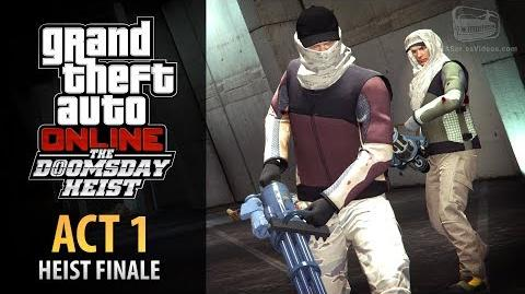 GTA Online Doomsday Heist Act 1 - The Data Breaches Finale (Elite & Mastermind II)