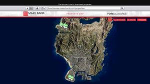 Hangars-GTAO-Location Map