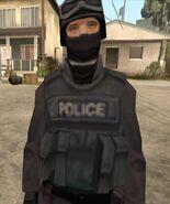 SWAT cop