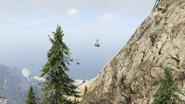 Aerial Tramway-GTAV-Passing Capsiules