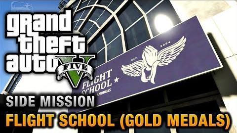 GTA 5 - Flight School (Gold Medals)