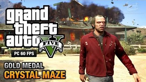 GTA 5 PC - Mission 20 - Crystal Maze Gold Medal Guide - 1080p 60fps