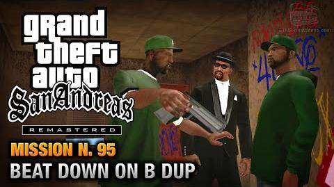 GTA San Andreas Remastered - Mission 95 - Beat Down on B Dup (Xbox 360 PS3)