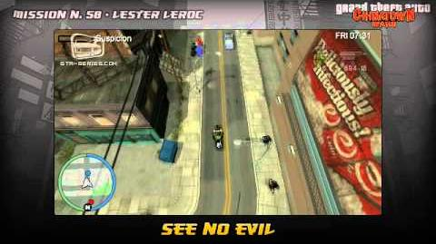 GTA Chinatown Wars - Walkthrough - Mission 58 - See No Evil