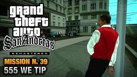 GTA San Andreas Remastered - Mission 39 - 555 WE TIP (Xbox 360 PS3)