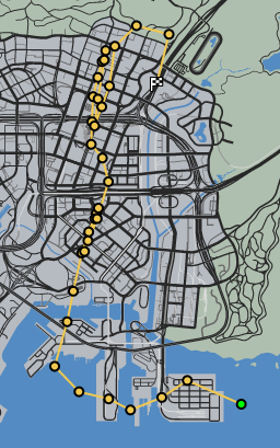 In The Loop GTAO Race Map