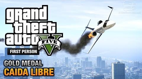 GTA 5 - Mission 45 - Caida Libre First Person Gold Medal Guide - PS4